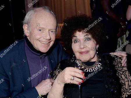Jonathan Morrish and Dame Cleo Laine