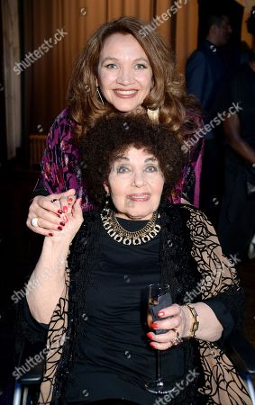 Stock Image of Jacqui Dankworth and Dame Cleo Laine