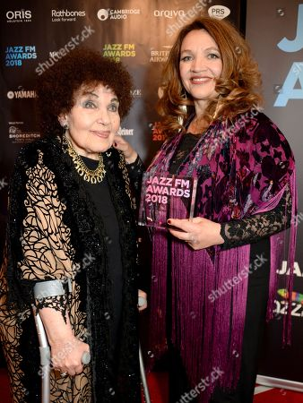Stock Photo of Jacqui Dankworth and Dame Cleo Laine