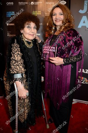 Jacqui Dankworth and Dame Cleo Laine