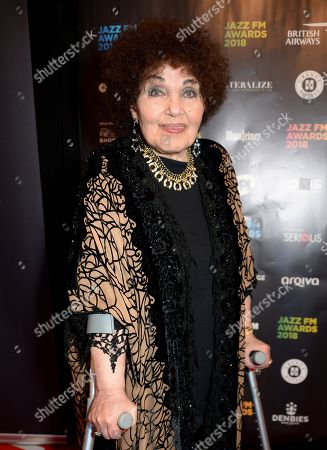 Stock Image of Dame Cleo Laine