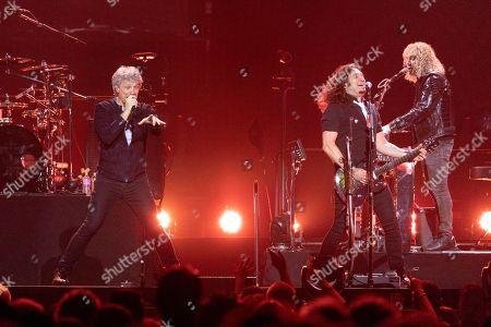 Bon Jovi - Jon Bon Jovi, Phil X and David Bryan