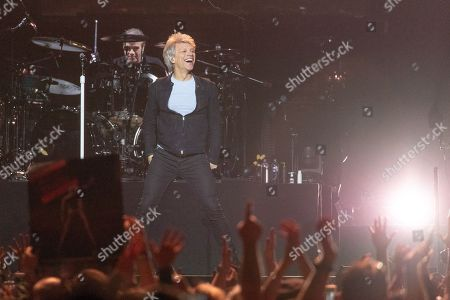 Editorial picture of Bon Jovi in concert at the Bradley Center, Milwaukee, USA - 29 Apr 2018