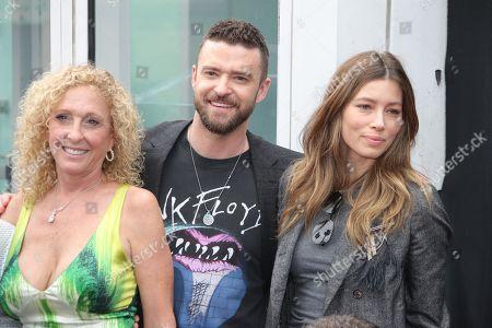 Lynn Bomar Harless, Justin Timberlake and Jessica Biel