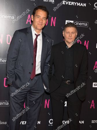 Stock Image of Clive Owen and Andrew Niccol