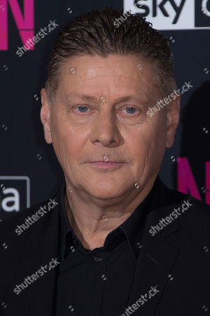 Director/writer Andrew Niccol at the UK premiere screening of Anon in north London