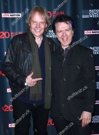 James Young and Lawrence Gowan