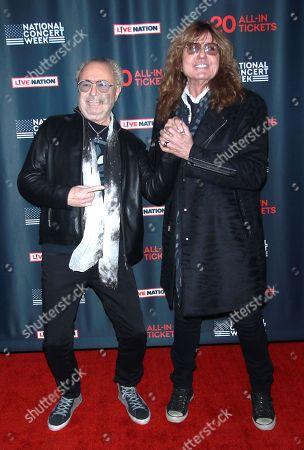 Mick Jones and David Coverdale