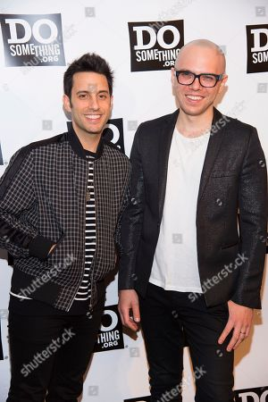 Chad King, Ian Axel, A Great Big World. Chad King, left, and Ian Axel of music group A Great Big World attend the DoSomething.org 25th Anniversary Gala at Gotham Hall, in New York
