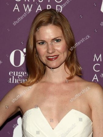 Stock Image of Kate MacCluggage attends the 18th Annual Monte Cristo Awards at the Edison Ballroom, in New York