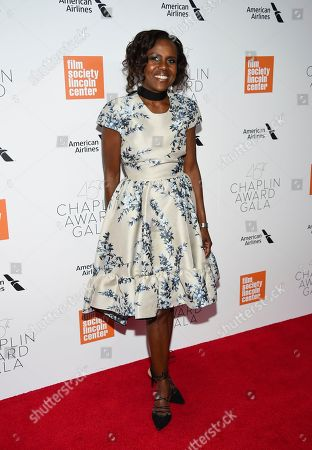 Deborah Roberts attends the Film Society of Lincoln Center's 45th Chaplin Award Gala at Alice Tully Hall, in New York