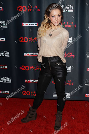 Editorial photo of Live Nation Launches National Concert Week, New York, USA - 30 Apr 2018