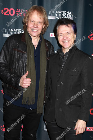 """James """"JY"""" Young and Lawrence Gowan (Styx)"""