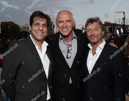 MGM Motion Picture Group President, Jonathan Glickman, Lionsgate Motion Picture Group Co-Chair, Joe Drake,  Lionsgate Motion Picture Group Co-Chair, Patrick Wachsberger