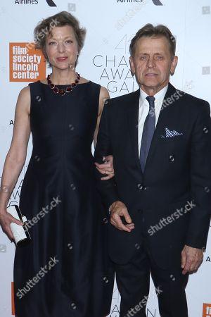 Lisa Rinehart and Mikhail Baryshnikov