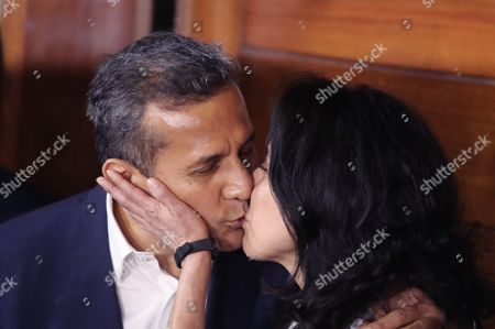 Editorial image of Former Peruvian President Ollanta Humala and wife released, Lima, Peru - 30 Apr 2018