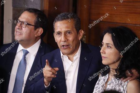 Ollanta Humala and Nadine Heredia