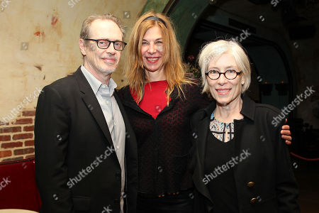Stock Image of Steve Buscemi, Sara Driver (Director) and Jo Andres