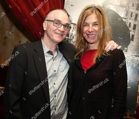 Eamonn Bowles (Pres; Magnolia Pictures) and Sara Driver (Director)