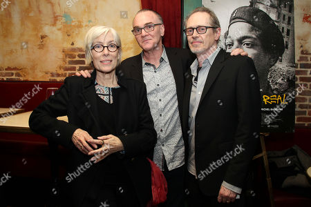 Jo Andres, Eamonn Bowles (Pres; Magnolia Pictures) and Steve Buscemi