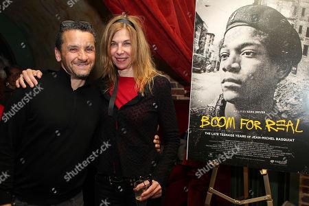 Lee Quinones and Sara Driver (Director)