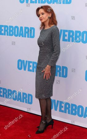 "Swoosie Kurtz arrives at the LA Premiere of ""Overboard"" at The Regency Village Theatre, in Los Angeles"