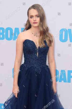 """Stock Picture of Hannah Nordberg arrives at the LA Premiere of """"Overboard"""" at The Regency Village Theatre, in Los Angeles"""