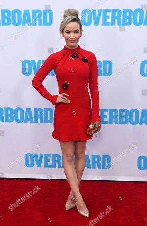 "Kelley Jakle arrives at the LA Premiere of ""Overboard"" at The Regency Village Theatre, in Los Angeles"