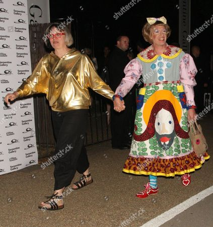 Grayson Perry and wife Philippa Fairclough