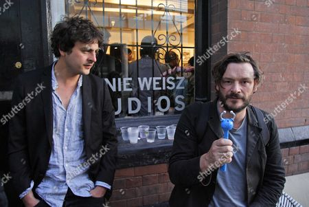 Julian Barratt with musician friend Ollie