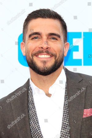Stock Photo of US actor/cast member Josh Segarra arriving at the Los Angeles Premiere of Overboard at the Regency Village Theater in Westwood, Los Angeles, California, USA, 30 April 2018. The film opens in the US 04 May 2018.