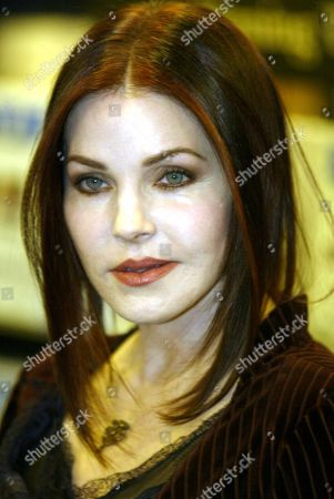 Stock Picture of Priscilla Presley Former Wife Of Elvis Presley Pictured During An In-store Signing At Waterstones On Oxford Street London Where She Signed Copies Of Elvis By The Presleys: Intimate Stories By Priscilla Presley Lisa Marie Presley And Other Family Members (edited By David Ritz; Published By Century A20).