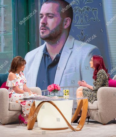 Lorraine Kelly and Kate Oates