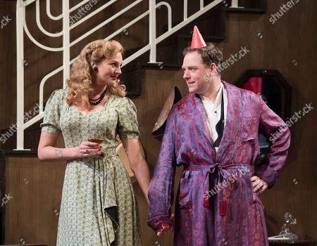 Katherine Kingsley as Liz Essendine, Rufus Hound as Garry Essendine