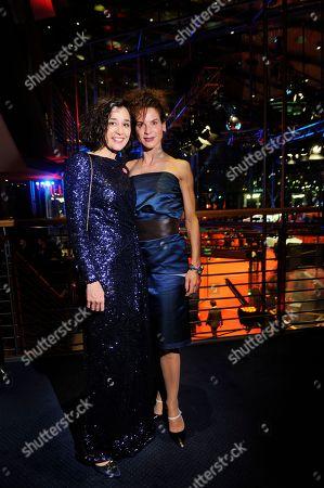 Stock Photo of Dorka Gryllus and Bibiana Beglau