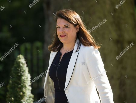Stock Photo of Caroline Noakes, Minister of State for Immigration, arrives at Downing Street for the Cabinet meeting.