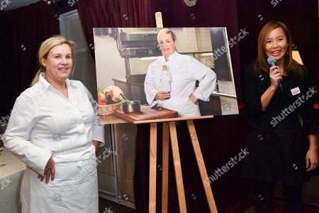Stock Picture of Helene Darroze, Gabrielle N'Guyen