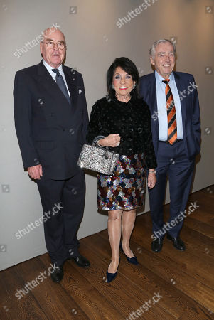 Stock Photo of Dr. Wolfgang Seybold and Regine Sixt and Mann Erich