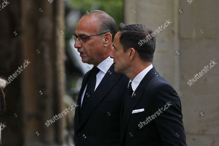 Theo Paphitis and Dennis Wise