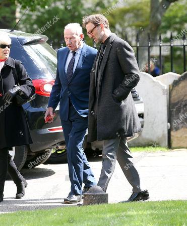 Bob Wilson  with Tony Adams (R)
