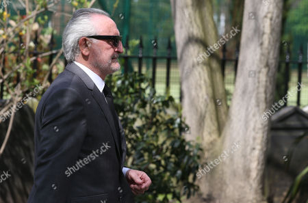 Stock Image of Frank Lampard (SNR) arrives