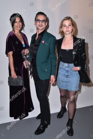 Jennifer Sklias, Dave Gahan and Stella Rose