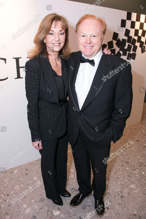Editorial image of 'Chess' arrivals, Press Night, London, UK - 01 May 2018