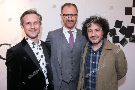 Stock Image of Ian Hallard, Mark Gatiss and Jeremy Dyson