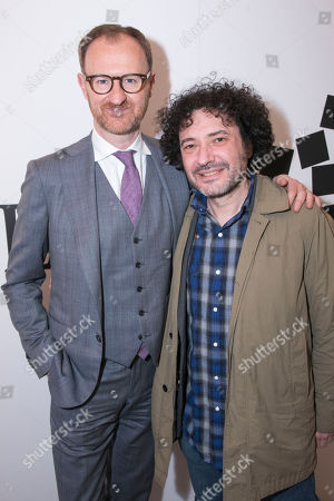 Stock Picture of Mark Gatiss and Jeremy Dyson