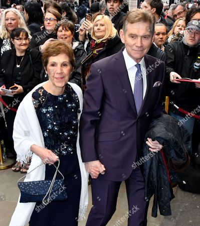 Anthony Andrews and Georgina Simpson