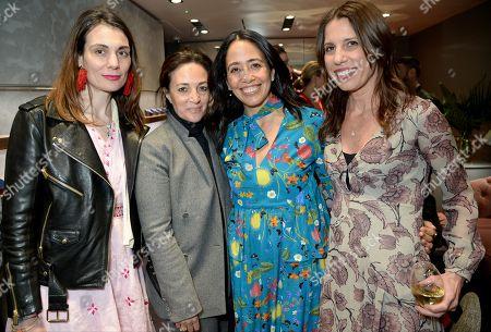 Maria Kastani, Daniela Agnelli, Carmen Borgonovo and Kelly Lambrou