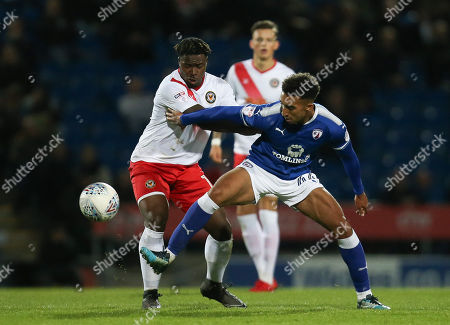 Editorial image of Chesterfield v Newport County, Sky Bet League 2 - 01 May 2018