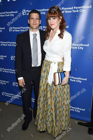 Panio Gianopoulos, Molly Ringwald. Panio Gianopoulos, left, and Molly Ringwald attend the Planned Parenthood Benefit Gala at Spring Studios, in New York