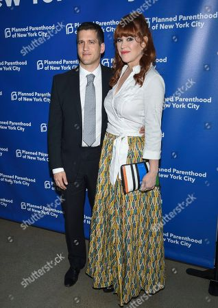 Panio Gianopoulos, Molly Ringwald. Molly Ringwald and husband Panio Gianopoulos attend the Planned Parenthood Benefit Gala at Spring Studios, in New York